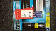 lightway cree led 5 watt torch - £3.99 @ ALDI