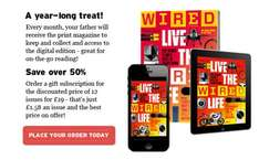 Wired / GQ / Traveller Magazine - 12 months for £19 @ Circules.com