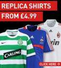 KITBAG SALE, REPLICA SHIRTS FROM £4.99 + 20% DISCOUNT VOUCHER