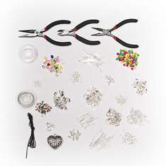 1000+ Piece Jewellery Making Kit £11.98 Delivered @ curtzy