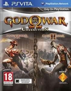 God of War Collection (PS Vita) - £12.97 (£14.97 delivered - free postage from £20!) at Gamestop