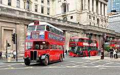 Transport for London Event - Bus Cavalcade in Regent Street on Sunday 22 June