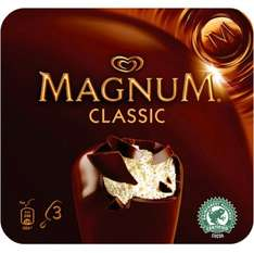 Walls Magnum Classic/Mint/Almond/White (3x110ml) - £1.25 @ Sainsbury's & Morrisons - Buy the Classic = 75p Via The Shopitize App...
