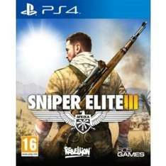 Sniper Elite 3 PS4 & Xbox One  £42.00 Less £5off = £37.00 @ tesco direct