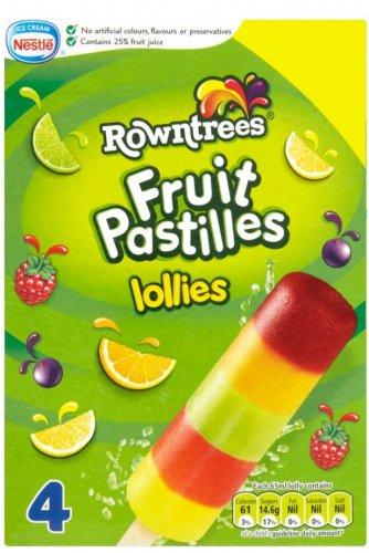 Rowntree's Fruit Pastilles Ice Lollies (4 x 65ml) - £1.24 (Half Price) @ Morrisons = 74p Via The Shopitize App...