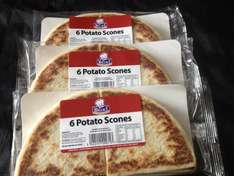 Tattie Scones 3 packs for only £1 at FarmFoods