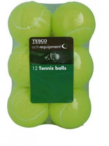 12 tennis balls, £3.30 C&C at Tesco