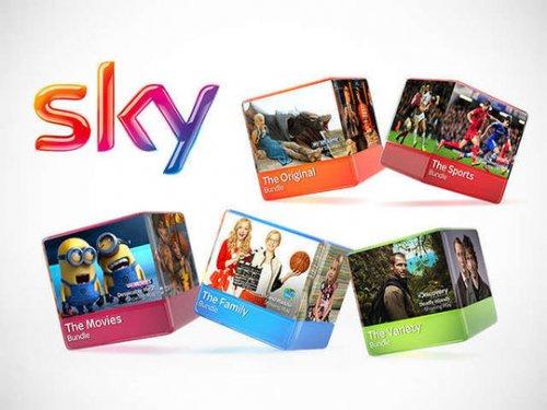SKY BUNDLES FOR 50% OFF USING A CODE WORTH £9 @ livingsocial