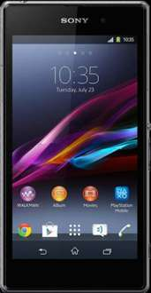 Sony Xperia Z1 Compact (Black) SIM Free £299.99 @ Mobile Phones Direct