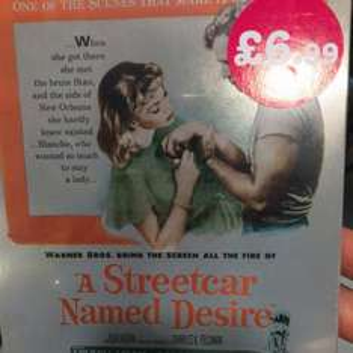 A streetcar named desire, bluray steelbook - still £6.99 in HMV