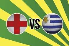 4/1 odds for England to beat Uruguay 19/6/14 £10 Bet @ Groupon (Paddy Power)