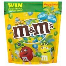 Brazil peanut M&MS (165g), Limited edition £1.00 in Co-op, 90p for students