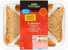 Asda Chinese takeaway 8 prawn toast 200g only £2