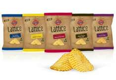 Enter The Word 'MATCHDAY' In CheckoutSmart For A FREE Bag OF Seabrook Lattice Crisps - £1 @ Asda......