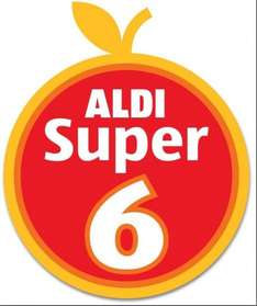 Aldi Super 6 Fruit & Vegetable Offers - 49p From 19th June - 2nd July 2014... Radish (300g); Button Mushrooms (200g); Snack Pack Grapes (170g); Carrots (1Kg); Jersey Royals New Potatoes (450g); Cherry Tomatoes (300g)...