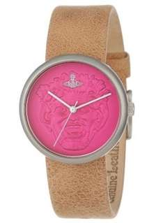 Vivienne Westwood Neptune Unisex Quartz Watch with Pink Dial Analogue Display and Beige Leather Strap VV021PKTN - £46.25 (Possible £37 With Code) @ Amazon