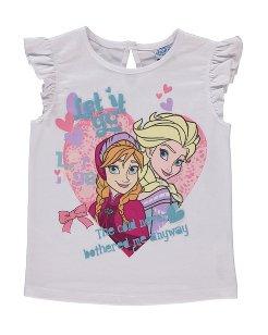 Girls Disney Frozen T shirt at Asda £5 collection instore