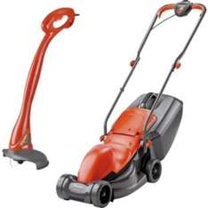 Flymo Electric Easimo Lawnmower and Mini Grass Trimmer-900W.  £69.99 @ Argos