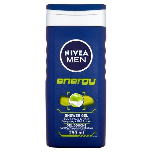NIVEA MEN Energy Shower Gel 250ml - 98p (Add On Item) - Amazon