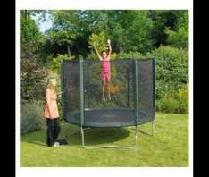 Plum 8ft Trampoline & Enclosure £70 @ Tesco Direct
