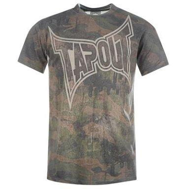 Tapout Sub Print T Shirt Mens £3.99 plus £3.99 p&p @  sports direct