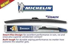 Michelin Stealth Wiper Blades, Various sizes, Asda in store, £8 each
