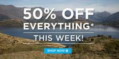 50% off EVERYTHING @ Mountain Warehouse online & in-store