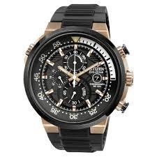 Citizen Men's watch 200m Chrono/Black Rubber Strap £127 @ amazon
