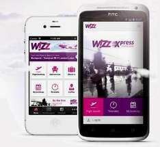 WIZZ AIR - 20% off all flights booked on 19th June 2014 only through App
