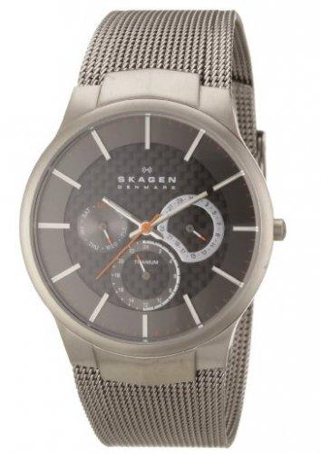 Skagen Men's 809XLTTM Carbon Fiber Dial Titanium Watch - £71.10 with code @ Sold Amazon