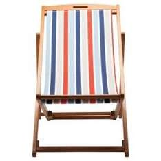 Deck chair was £30 now £14.70 @ tesco direct with C @ C