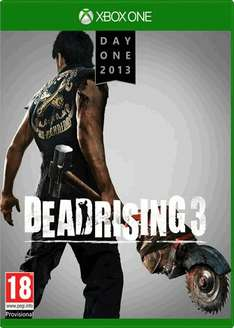 Dead Rising 3 Day One Edition (Xbox One) (Preowned) £20 Delivered @ GAME