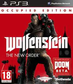 Wolfenstein: The New Order Occupied Edition (PS3/360) (New) £24.99 Delivered @ GAME (Standard Edition £24.99 too)