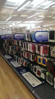 Cheap tablet cases from £2.50 to £7.50 for official Samsung cases @ Tesco instore