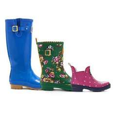 Joules Fashion Welly Boots Up to 60% Off Starting from £10+ @ eBay / joulesclothingoutlet  Top Pick Deal