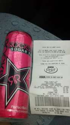 Rockstar sugar free 25p @ asda