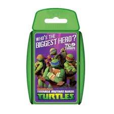 Ninja turtles top trump cards tesco direct £2.63 C&C