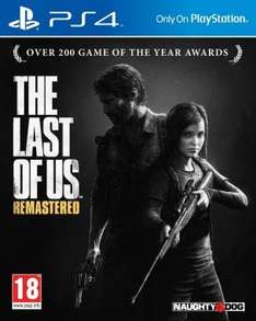 The Last of Us Remastered (PS4) - £37.65 from Gameseek