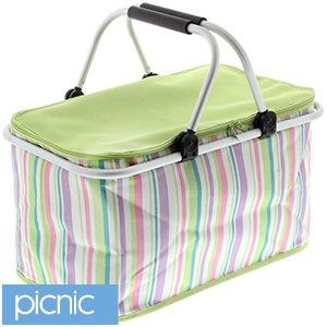Folding Picnic basket £5.99 @ Home Bargain