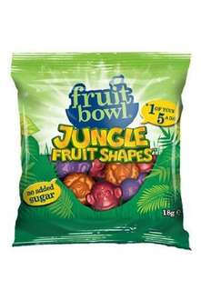 Fruit Bowl Jungle Shapes 18 g (25 Packs) £1.89 @ Amazon (add on item / £10 spend)