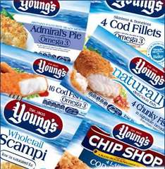 Young's 18 OMEGA3 Fish Fingers £1.50 @ Farmfoods