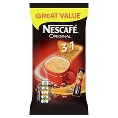 Nescafe 2/3 in 1 5 packs all varieties £1 each or 2 for £1 @ Asda