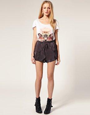 Richmond X Pocket Silky Shorts Ladies £39.50 @ Asos