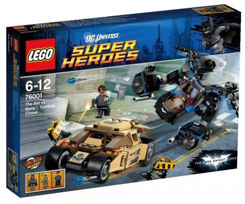 LEGO Batman The Bat vs Bane Tumbler Chase - 76001 £23.98 @ Asda Direct