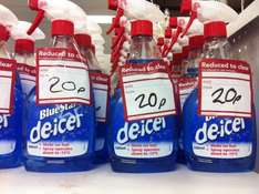 BlueStar Deicer, 20p in Clearance. Probably national…check your local Wilko's branch.