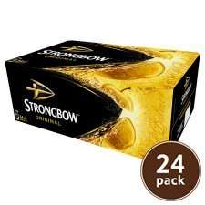 24 X 440 ml Strongbow £12.00 at Tesco. In-store and online