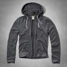 ABERCROMBIE BURNOUT HOODIE TEE 26.99 FREE DELIVERY