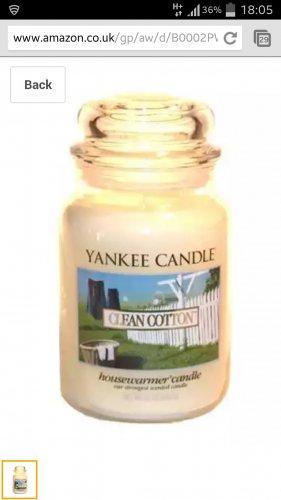 Yankee candle £13.99 @ Amazon