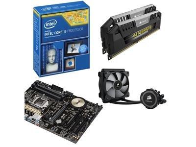 Asus Intel Z97 Hydro Bundle (Z97-K, Intel Core i5-4670K & 16GB Veng Pro 2133MHz + H75 Hydro Cooler) + Asus Echelon ROG Gamer Headset £420.97 @ Dabs