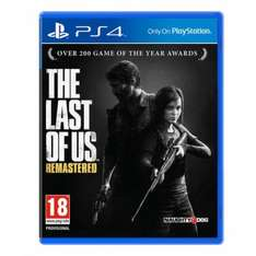The Last of Us Remastered Edition PS4 365games.co.uk £32.99
